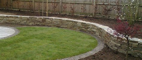 pictures of garden walls pmb landscapes in whitchurch home garden construction work