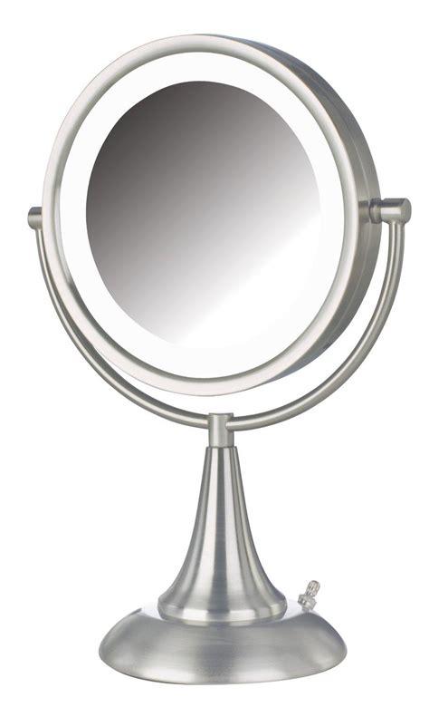 lighted makeup mirror amazon amazon com jerdon hl8510nl 8 5 inch led lighted vanity