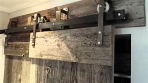 barn door hardware ceiling mountthat will hold the weight With ceiling mounted barn door hardware kit