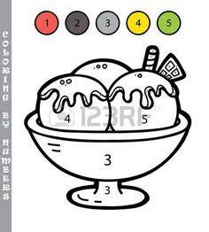 Coloreamos por Números Colorear por números Libro de