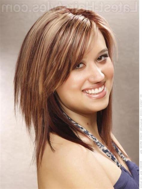 medium length haircuts   faces  hairstyle