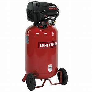 Craftsman 30 Gal  Air Compressor  6 Hp  Vertical Tank  Oil