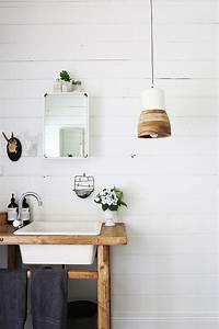 best 25 meuble vasque ideas on pinterest vanity de With marvelous meuble lavabo bois massif 8 meuble vasque salle de bain en bois patine et blanc mat