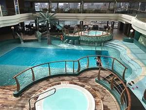 pool spa fitness on msc fantasia cruise ship cruise critic With indoor pool with retractable roof