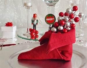 Pliage De Serviette Pour Noel : pliage serviette noel ~ Melissatoandfro.com Idées de Décoration