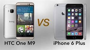 HTC One M9 vs Apple iPhone 6 Plus Full Comparison! - YouTube