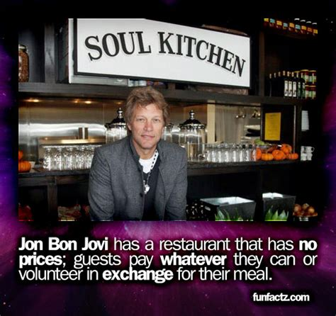 Jon Bon Jovi Has Restaurant That Prices Guests