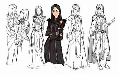 Prince Dragon Callum Concept Coloring Characters Rayla