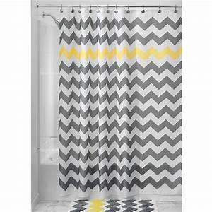 Rideau Jaune Et Gris : rideau de douche original 21 rideaux que vous allez adorer ~ Teatrodelosmanantiales.com Idées de Décoration