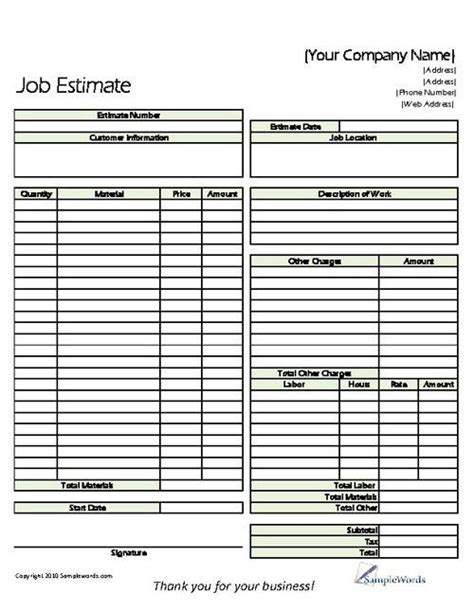 landscaping estimate template landscape maintenance estimate template invitation templates estimate invoice template