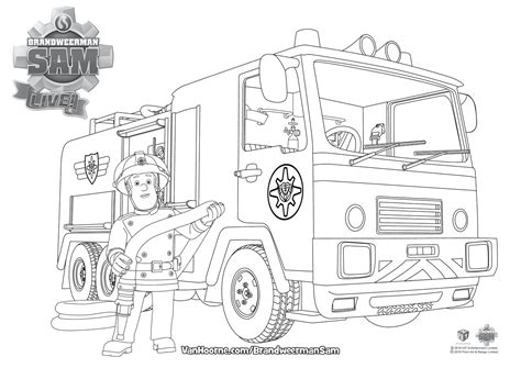 Kleurplaat Brandweerman Sam Boot by Brandweer Sam Kleurplaat Coloriage Les Enfants
