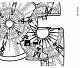 Pueblo Taos Coloring Fabric Spoonflower sketch template
