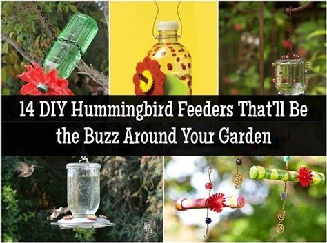 diy hummingbird feeders thatll   buzz