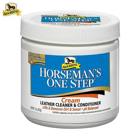 leather conditioner cream step absorbine boots cleaner saddle horseman tack care horsemans cleaning lledr cuir graisse ng protects liw grasa