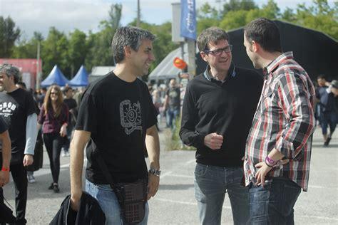 george melies vitoria el alcalde acude al arranque del azkena rock festival en