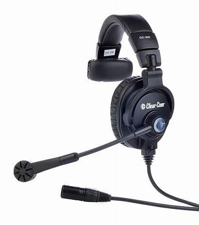 Headset Ear Single Cc Audio Equipment Clear