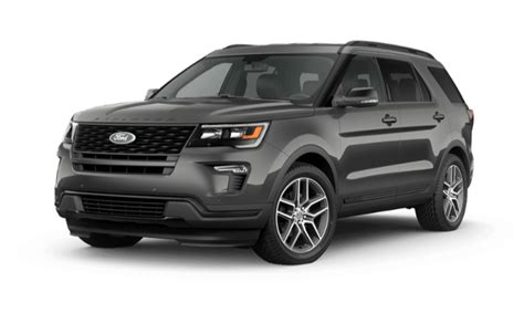 2019 Ford Explorer Xlt Vs. Limited Vs. Sport Vs. Platinum