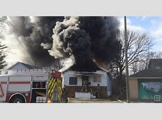 Video Heavy Smoke and Fire Conditions in Saginaw