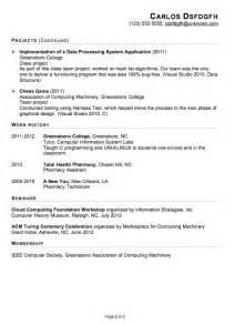proper layout for resume proper resume format resume badak