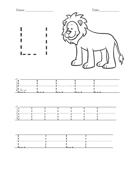 activity worksheets to print alphabet and numbers learning letter l worksheets handwriting