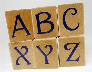 Alphabet rubber stamp set large uppercase letters modern for Large letter rubber stamps