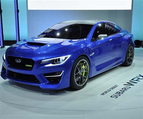 Subaru Wrx Is Subject To Serious Changes In 2019