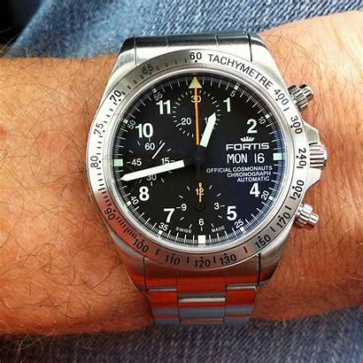 Fortis Chronograph Cosmonauts Official Automatic Space Watches