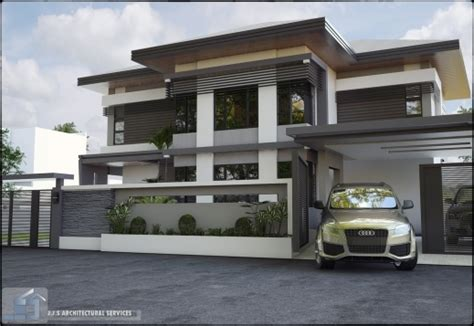 Best Proposed 2 Storey Residence Jjs Architectural