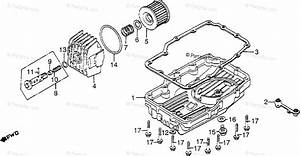 Honda Motorcycle 1983 Oem Parts Diagram For Oil Filter