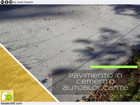 Pavimenti in cemento per interni e per esterni