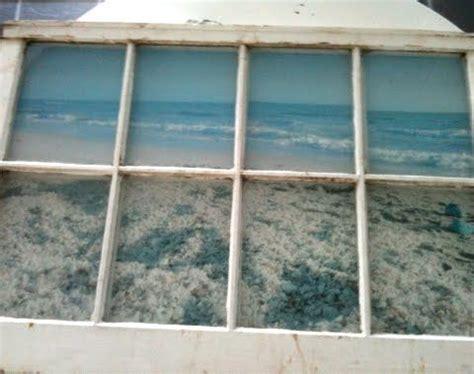window   ocean view coastal beach crafts