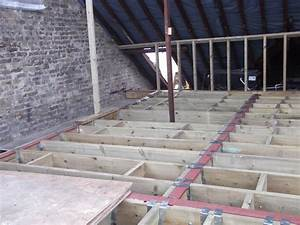 Loft conversion a how to guide installing the floor for How to install floor joists