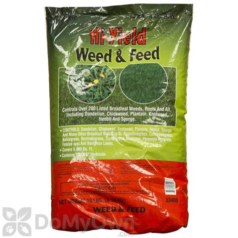 Weed And Feed, Hiyield Weed And Feed Granules  Free Shipping