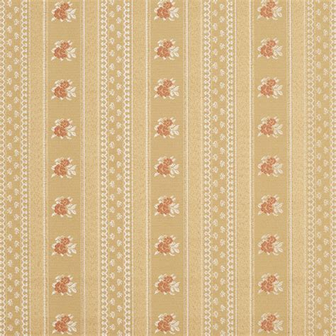 Brocade Upholstery Fabric by Gold White And Floral Striped Brocade Upholstery