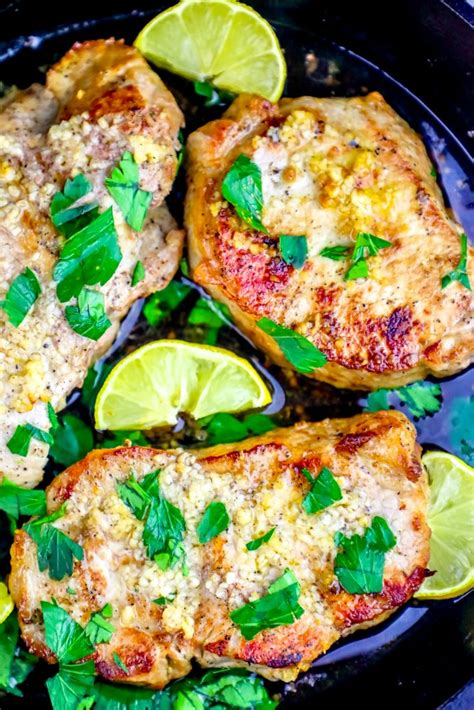 The kick of garlic in every sweet chunk of meat will have you dreaming about oven baked pork chops in your sleep! The Best Baked Garlic Pork Chops Recipe - Oven Baked Pork ...