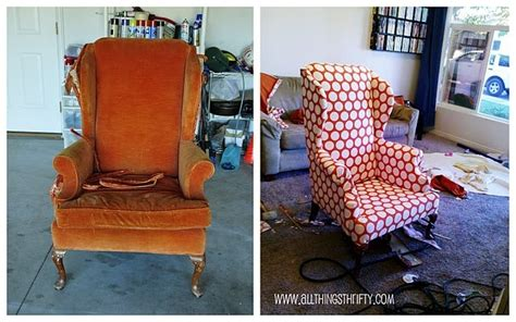 retapisser un canapé before and after diy reupholstering furniture ideas