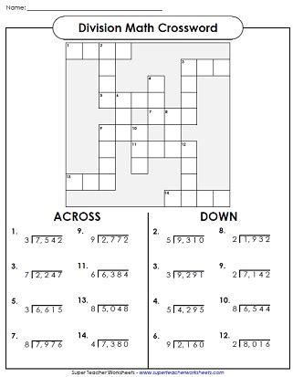 worksheet long division puzzle worksheets fun maths method long division worksheets
