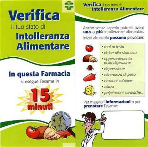 esami di intolleranza alimentare farmacia nannucci esame per le intolleranze alimentari