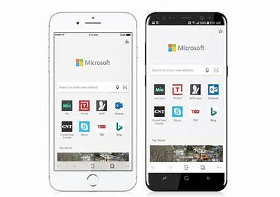 Edge Browser Microsoft Android Mobile Ios Platform