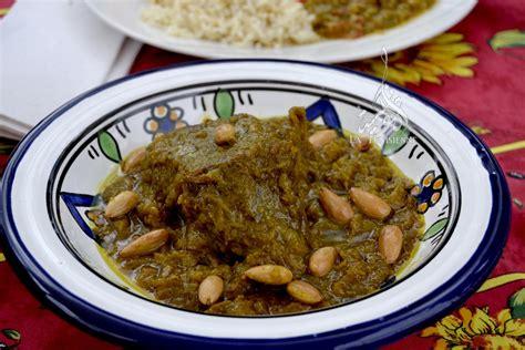 cuisine marocaine tajine de veau aux amandes