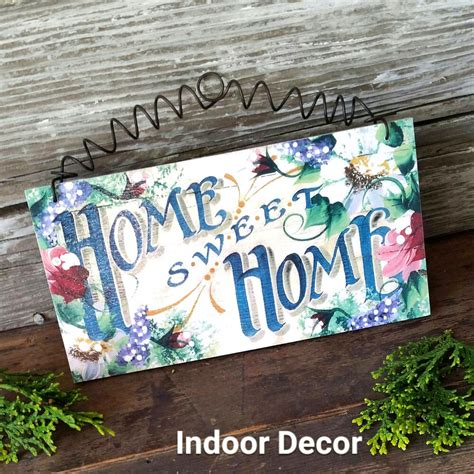 home sweet home decor home sweet home decowords exclusive cottage roses wooden