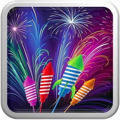 Fireworks Frenzy Purple