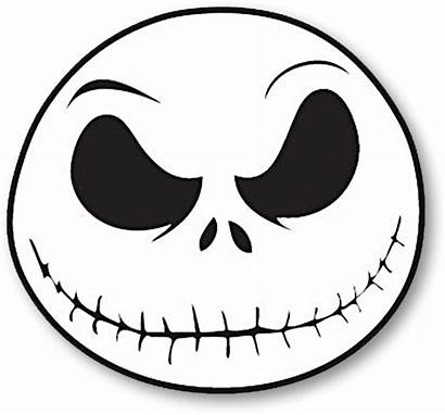 Nightmare Jack Before Christmas Skellington Clipart Face