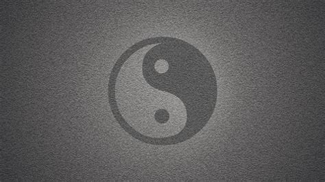 wall yin  symbol textures grayscale backgrounds