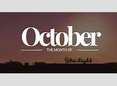 October – the 10th Month