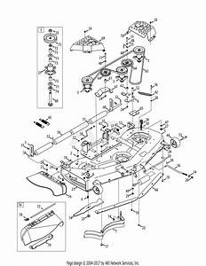 Mtd 14ak945k004  2012  Parts Diagram For Mower Deck 54