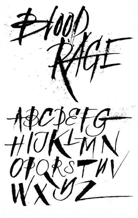 Image result for ralph steadman font cross stitch   Bitch n' Stitch   Tattoo lettering fonts