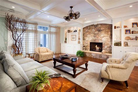 livingroom fireplace design fieldstone fireplace in living room ifresh design