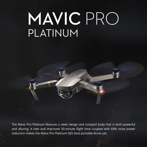 dji mavic pro platinum drone drone accessories