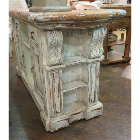 Corbel Course by Corbels Kitchen Island Majestic Fog Furniture On